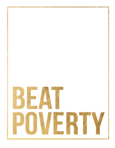 Beat Poverty logo